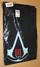Assassin's Creed 3 III very rare  promo T-Shirt Shirt from Gamescom size M