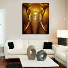 HD Canvas Prints Home Decor wall art Painting Picture Unframed Abstract Elephant