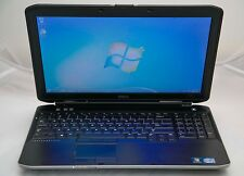 "Dell Latitude E5530 15.6"" Core i3-2328M 2.2GHz 8GB 256GB SSD Windows 7 Laptop"