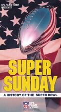 Super Sunday - A History of the Super Bowl VHS 1988 NFL Films Video