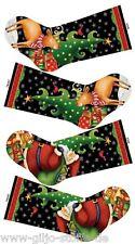 Nikolausstiefel 25 Days Til Christmas Stocking Patchworkstoffe Stoff Weihnachten