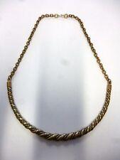 Kalevala Koru Finland Vintage Spiral Necklace from Finnish Halikko. Bronze