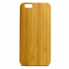 Custom Engraving Case for iPhone 7 Bamboo Wood Cover Personalized Logo Gift
