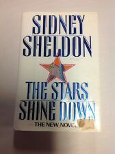 THE STARS SHINE DOWN by Sidney Sheldon First Edition Hardcover w Dustcover