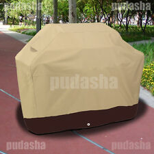 Heavy Duty Waterproof BBQ Cover Gas Electric Barbecue Grill Smoker PQ5PB