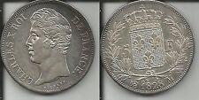 FRANCIA 5 FRANCHI 1828 M CARLO X qSPL