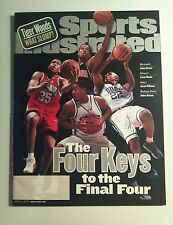 April 2 2001 Sports Illustrated  Final 4 Maryland Duke Mich St Arizona