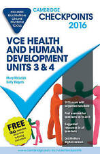 Cambridge Checkpoints VCE Health and Human Development Units 3 and 4 2016 and...