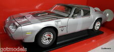 Road Siganture 1/18 Scale 79 Pontiac Firebird Trans Am silver diecast model car