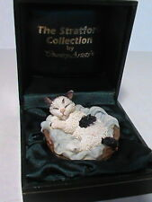 The Stratford Collection by Country Artist Sleeping Cat in collector's box
