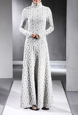 2015 New Women's super Turtleneck FULL LENGTH GOWN Maxi Long sleeve Dress