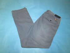 NEW! Men's POLO RALPH LAUREN Blue Flat Front Chino Pants 34 x 30