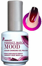 LeChat Perfect Match Mood Changing Gel Color Groovy Heat Wave -  0.5 oz - MPMG01