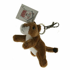 "Stuffed Animal House 4.5"" Mini Cougar Soft Plush Toy Keychain Zipper Pull NWT"
