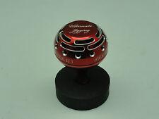 U.J. PRK 45 II knob for shimano Kaikon 夢屋 Daiwa SEABORG TANACOM BULL reel Red/SV