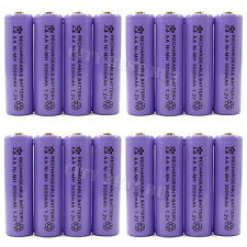 16pcs AA 2A 3000mAh 1.2V NiMH Ni-MH Rechargeable recharge Battery