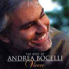 ANDREA BOCELLI ( NEW SEALED CD ) VIVERE / GREATEST HITS / THE VERY BEST OF