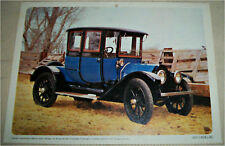 1912 Cadillac 2 dr sedan car print (blue)