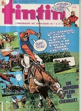 TINTIN n°451 grand steeple de liverpool plein chevaux