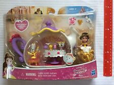 NEW Disney Princess Little Kingdom Belle's Enchanted Dining Room Set, Snap Ins