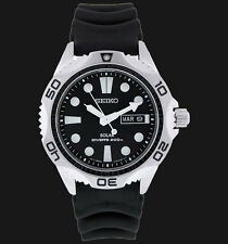 NEW MEN'S SEIKO SOLAR POWERED 200M AIR DIVER'S ANALOG WATCH SNE107P2