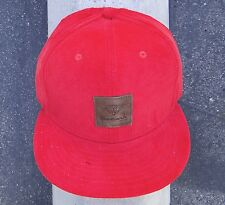 Diamond supply co. skateboard red pana front logo mens hat strap snapback