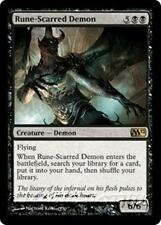 RUNE-SCARRED DEMON M12 Magic 2012 MTG Black Creature — Demon RARE