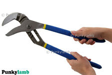 "16"" inch Professional Water Pump Pliers Plumbers Cushion Grip Handle Heavy Duty"