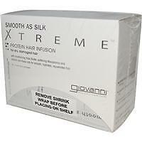 Giovanni Smooth as Silk Xtreme Protein Hair Infusion 5 Foil Packets (5 x 32ml)