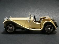 Franklin Mint 1938 Jaguar SS 100 Roadster 1:24 Scale Diecast Model Classic Car