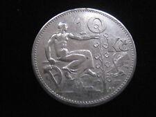 MDS TSCHECHOSLOWAKEI 10 KRONEN 1932, SILBER   #33