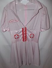 Sponge Bath Betty Naughty Nurse Halloween Costume L Leg Avenue Candy Striper