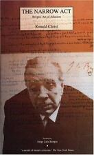 Narrow Act : Borges' Art of Allusion by Ronald J. Christ (1995, Paperback)