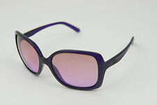 Oakley Women's Beckon Grape Juice OO9125-03 Purple Violet Gradient Sunglasses
