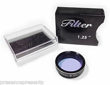 "ASTRONOMY TELESCOPE BLUE LIGHT POLLUTION & MOON FILTER 1.25"" STANDARD EYEPIECE"