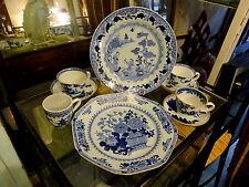 LOTTO di 19 ° secolo all' esportazione cinesi porcellana tè TAZZE PIATTINI PIATTI CAFFÈ può