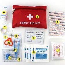 First Aid Kit Bag Outdoor Camping Sport Travel Emergency Medical Bag New