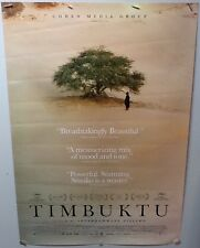 Original Movie Poster For Timbuktu Double Sided 27x40