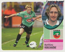 MATTHIEU VERSCHUERE # CS.SEDAN VIGNETTE STICKER  PANINI FOOT 2003
