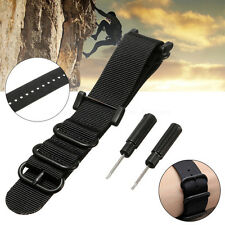 Luxury Nylon Replacement Watch Band Strap 5 Ring Lugs + Adapters For Suunto Core