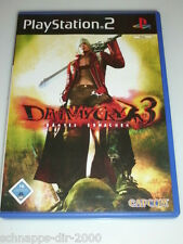 DEVIL MAY CRY 3 SPIEL MIT ANLEITUNG PLAYSTATION 2 PS2 MIT DEMO MONSTER HUNTER