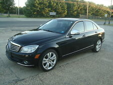 Mercedes-Benz: C-Class C300 AWD NAVI Salvage Rebuildable Repairable