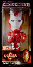 FUNKO Wacky Wobbler Collection__IRON MAN Exclusive Bobble Head__Silver Centurion