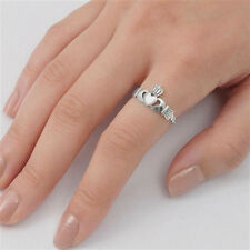 USA Seller Crown Claddagh Ring Sterling Silver 925 Best Deal Jewelry Size 5