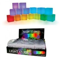 LED Light Cube Visual Senses Tracking Peripheral Night Light Soft Color Battery
