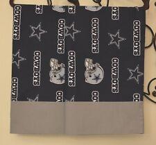 Dallas Cowboys Pillowcases TWO Handmade queen Cotton NEW football
