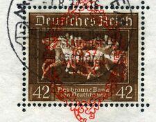 1937 Riem-Block Mi# Block 10 mit ESST vom 1.9.37