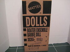 Barbie Exclusive Boaters Ensemble Barbie GOLD LABEL with SEALED Shipper X8265