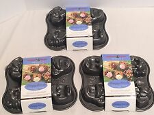 NORDIK WEAR HUNGRY ANIMALS BAKEWARE - HEAVY CAST ALUMINUM - Bundle of 3