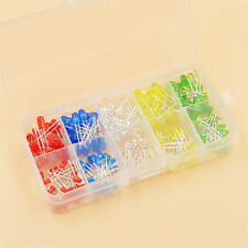 200PCS Light Emitting Diode LED 3mm 5mm Red Green Yellow blue white Box Kit
